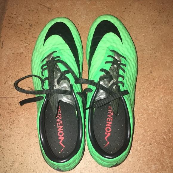 Nike Other - Green Nike ACC Soccer Cleats Hypervenom Phantom